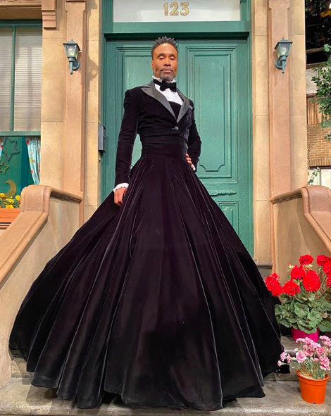 """Pose"" Actor Billy Porter Wearing A Dress On Sesame Street Garners Mixed Reactions [Photo]"