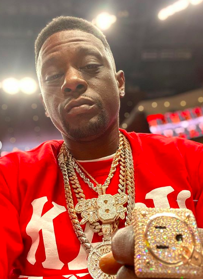 Boosie Reacts To Getting Backlash For Wearing A Kappa Alpha Psi Sweatshirt: I Wear What I Wanna Wear!
