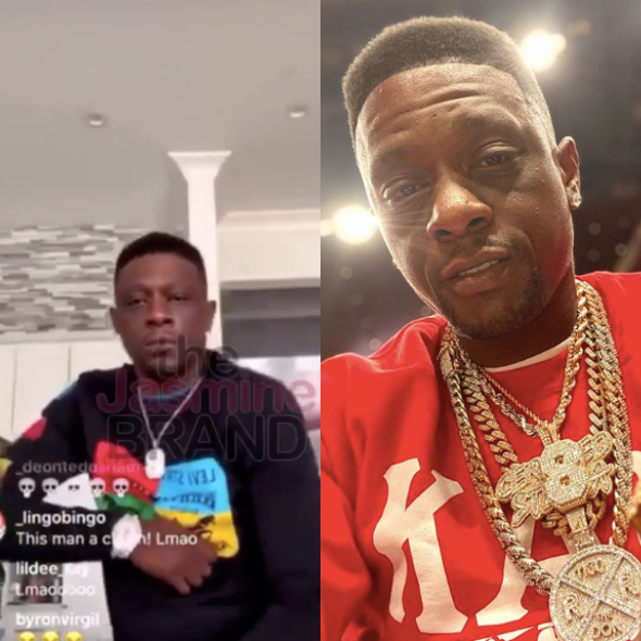 Lil Boosie Gets Tutoring Session From A Kappa, Who Instructs Him On How To Shimmy [WATCH]