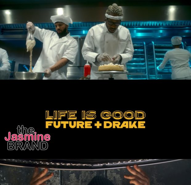 "Drake & Future Portray Garbage Men, Mechanics & Fast Food Workers In ""Life Is Good"" Video"