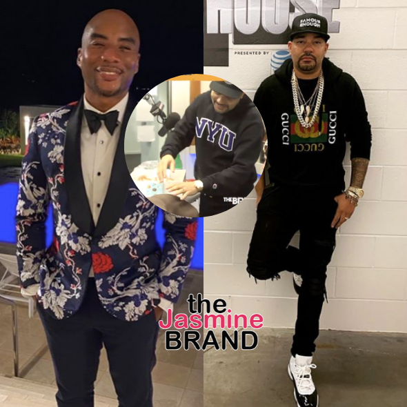 Charlamagne Gifts DJ Envy With A Mold Of His Butt & Twitter Has A Field Day
