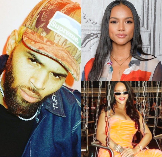 "Chris Brown Says ""I'm Still In Love With Her"" + Fans Speculate If He's Referring To Rihanna Or Karrueche Tran"