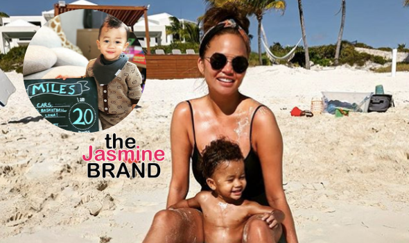 Chrissy Teigen Responds To Critic Asking If It's 'Necessary' For Her Son To Wear A Gucci Outfit: Yeah B****