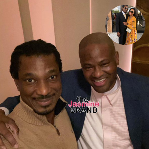 Tamar Braxton's Ex-Husband & Boyfriend All Smiles In New Photo