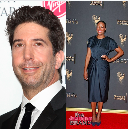 """Friends"" Star David Schwimmer Says He Campaigned For His Character To 'Date Women Of Color', Aisha Tyler Played His On-Screen Girlfriend"