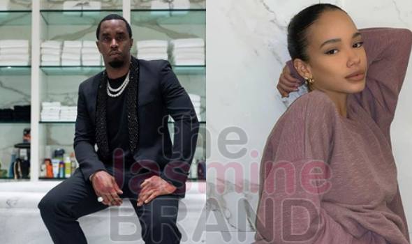 Diddy Spotted Vacationing With Mystery Woman In Miami