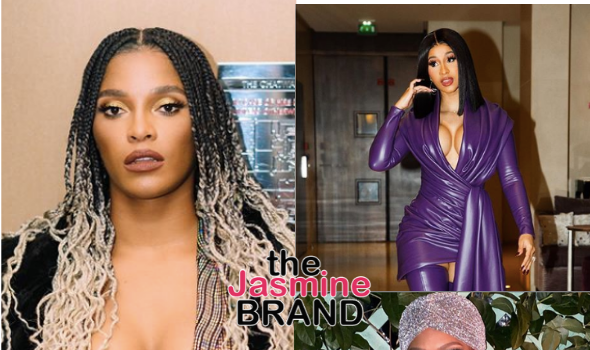 Joseline Hernandez Reveals If She's Jealous Of Cardi B + Lashes Out At Mona Scott-Young: Some People Need To Be Visited By Human Resources [WATCH]