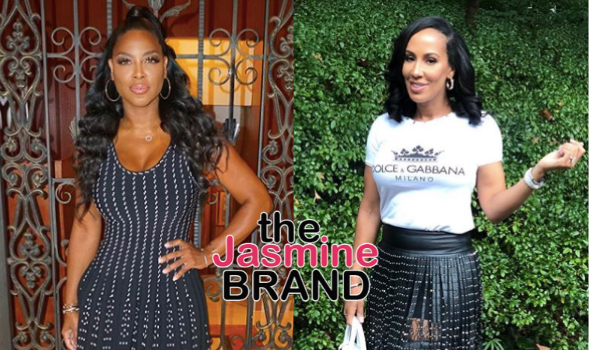 RHOA's Kenya Moore Reacts To Backlash After Alluding To Tanya Sam's Fiancé Cheating + Tanya Reacts