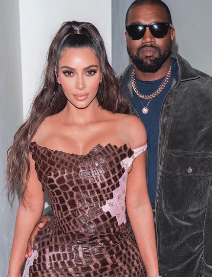 Kim Kardashian & Kanye West Reportedly Living In Separate Ends of Their House