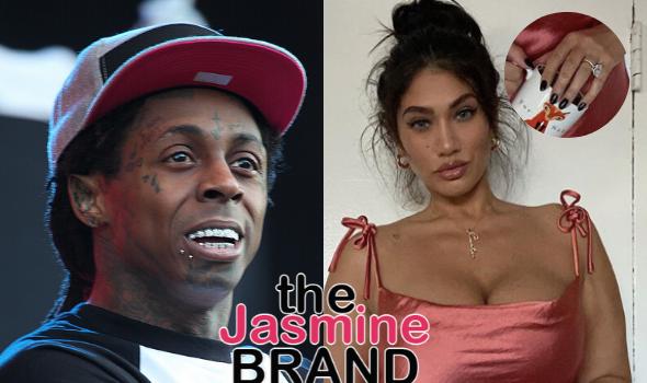Lil Wayne's Rumored Fiancée Rocks Massive Diamond On Ring Finger [PHOTOS]