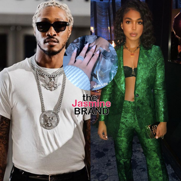 Lori Harvey Sparks Rumors She's Married To Future With 'Wife Life' Post, Shows Off Diamond Ring