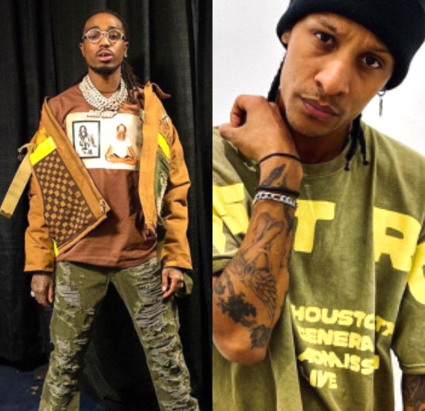 Quavo Spotted Punching One Of The Les Twins Dancers At Paris Fashion Week Party [VIDEO]
