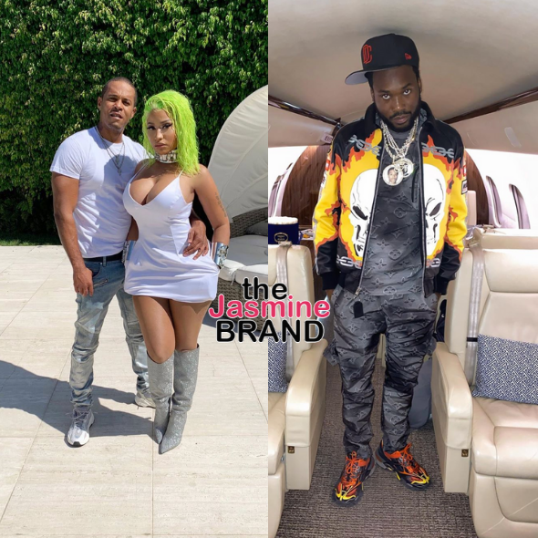 Meek Mill's Alleged Side Eye Is What Sparked Screaming Match Between Him & Nicki Minaj's Husband