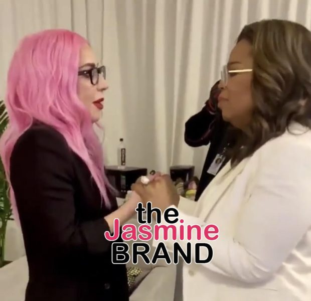 Lady GaGa Makes Oprah Cry Backstage [VIDEO]
