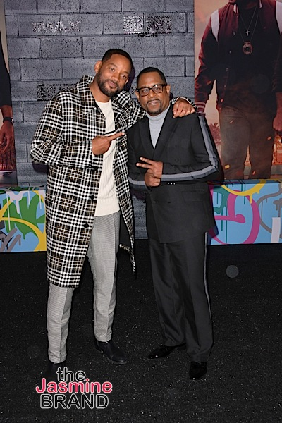 """Bad Boys For Life"" Premiere: Tiffany Haddish, Kenya Barris, Snoop, Vivica Fox, Jeezy, Martin Lawrence & Will Smith [Photos]"