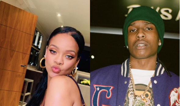 Rihanna & A$AP Rocky Reportedly Dating + Allegedly Shared A Hotel In NYC