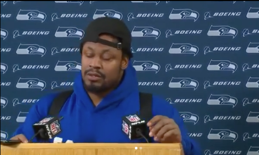 NFL'er Marshawn Lynch Gives Candid Advice To Younger Players: Take care of y'all's chicken, take care of y'all's mental!