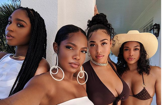 Normani, Ryan Destiny, Jordyn Woods & Lori Harvey Are Stunning In Latest Photo!