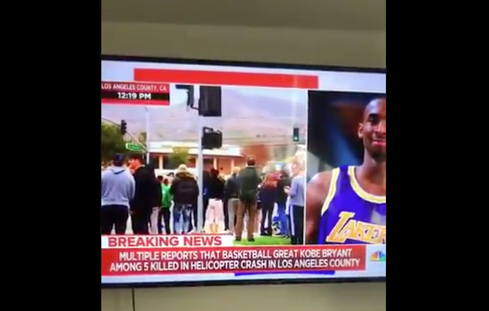 Update: Reporter Speaks Out After Allegedly Using N-Word While Discussing Kobe Bryant Helicopter Crash – I Apologize For The Confusion