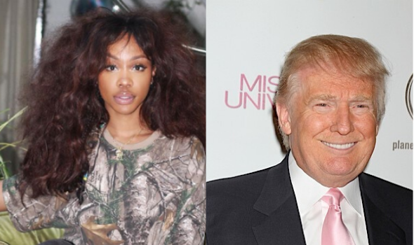 Sza Blasts President Donald Trump: Just Say You Don't Give A F**k About Us & Move On