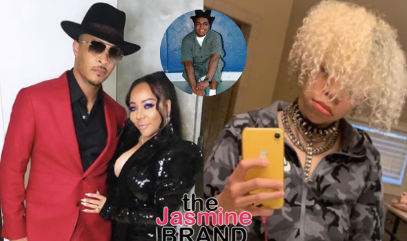 T.I. & Tiny's Son King Harris Seen Getting Into A Fight w/ Classmate For Wearing A Kodak Black Hoodie