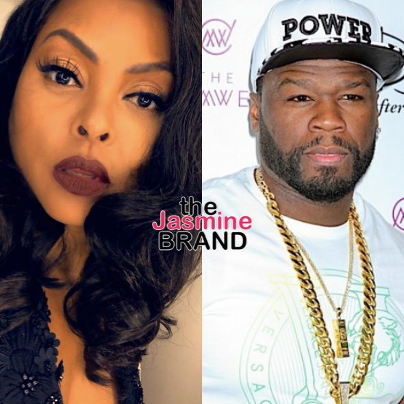 "Taraji P. Henson On 50 Cent Taunting ""Empire"": Why Tear Down Another Black Person? It's Embarrassing!"