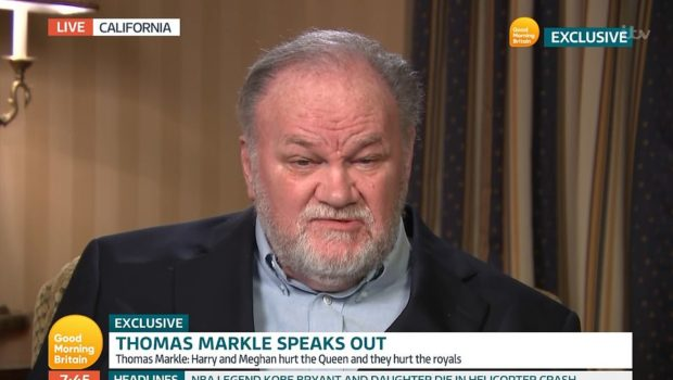 "Thomas Markle Threatens A Major Interview Every Month Until Meghan Markle Contacts Him, Tells Prince Harry: ""Man Up And Fly Down And See Me!"""