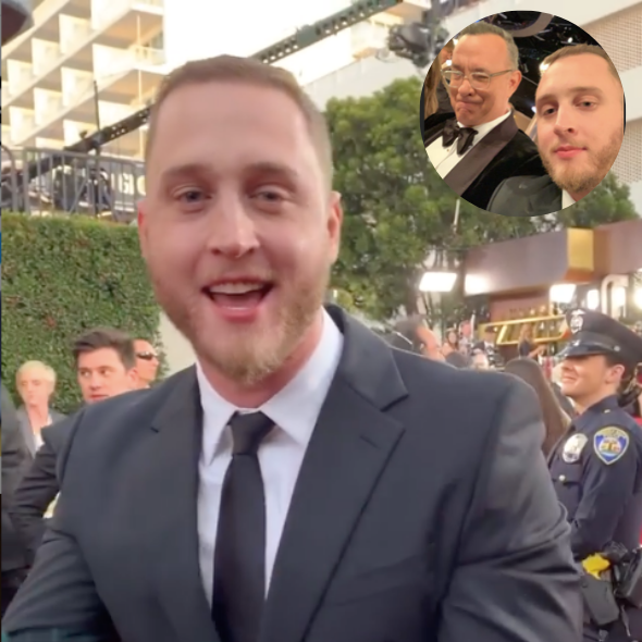 Tom Hanks's Son Chet Hanks Starts Trending After He Debuts Patois Accent At The Golden Globes
