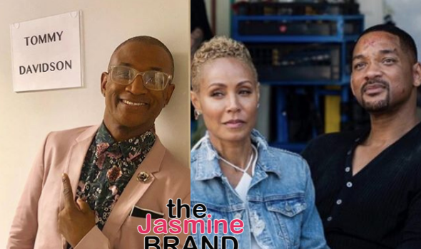 Tommy Davidson Reveals He Nearly Fought Will Smith Over Jada: Will Went All Gangsta On Me!