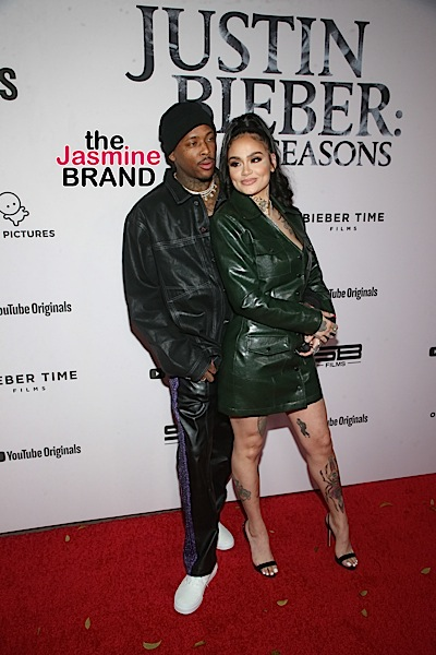 Kehlani & YG Spotted At Justin Bieber's Premiere Together + Paris Hilton & Rotimi [Photos]