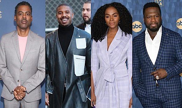 Celebrity Photos: Michael Ealy, Miles Brown, Pam Grier, Evan Ross, RuPaul, Chris Rock, Michael B. Jordan, 50 Cent