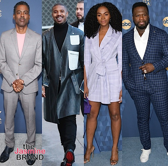 Celebrity Photos: Michael Ealy, Miles Brown, Pam Grier, Evan Ross, RuPaul, Chris Rock, Michael B. Jordan, 50 Cent