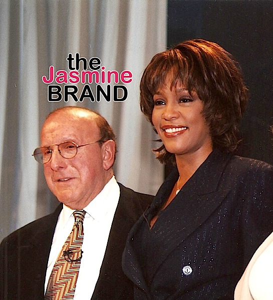 "Clive Davis ""Very Disappointed"" In Past Whitney Houston Docus, Working On New Biopic"