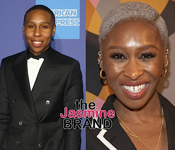 Lena Waithe & Cynthia Erivo Post Photos From The Same Home Theater Room, Fueling Rumors Of Them Living Together