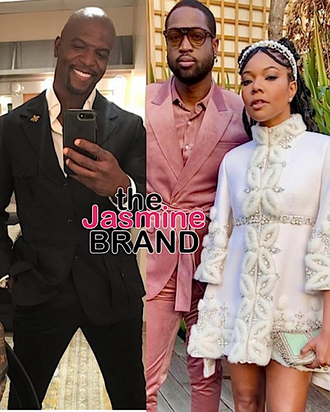 Dwyane Wade Reacts To Terry Crews' Apology To Gabrielle Union: Someone Please Take His Phone!