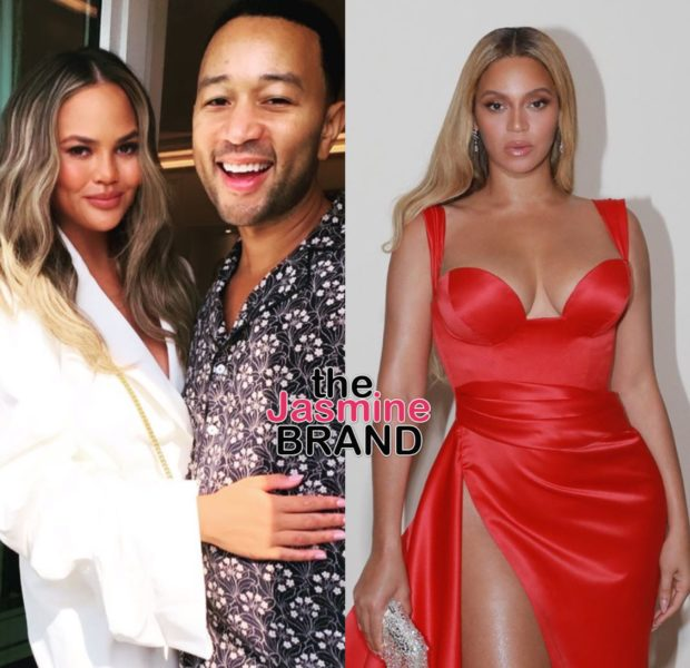Chrissy Teigen Pens Message To Beyoncé After Fanning Out Awkwardly At Oscar's After Party