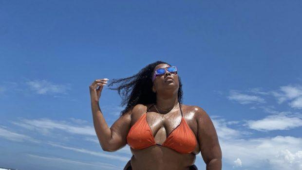 Lizzo Serves Bikini Beach Body [Photo]