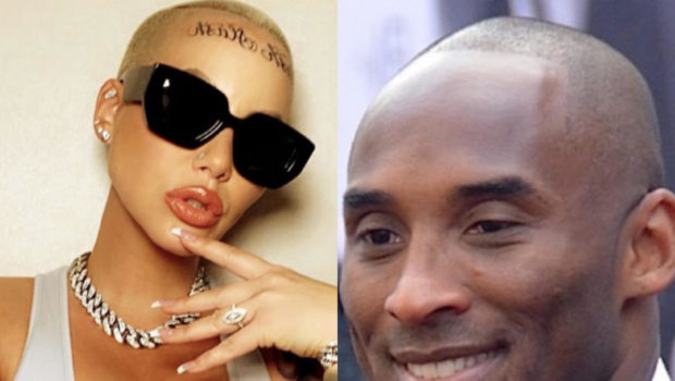 "Amber Rose Says Kobe Bryant's Death Inspired Her Face Tattoo: ""Life Is So Short! Just Live Your Best Life!"""