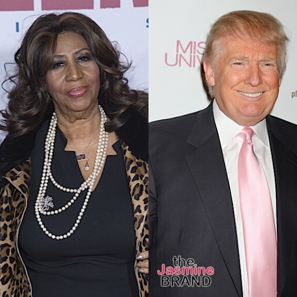 Aretha Franklin Said There Was 'No Amount Of Money' That Could Make Her Perform At Donald Trump's Inauguration