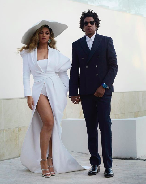 Jay-Z Says He & Beyonce Weren't Protesting National Anthem: We Wouldn't Do That To Blue & Put Her In That Position