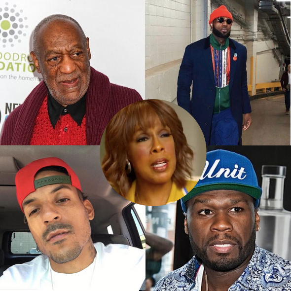 Gayle King — Bill Cosby, LeBron James, Matt Barnes, 50 Cent Lash Out At Journalist Over Kobe Bryant Sexual Assault Question