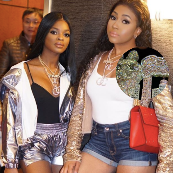 Yung Miami Asks Fans To Send Her Money Via CashApp For Her Bday, City Girls Bestie JT Gifts Her With Expensive Necklace