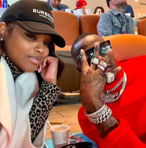DaBaby Sends A Message To His 'Crazy' Baby Mama MeMe: I Love You, Now STFU Texting Me I'm In A Meeting