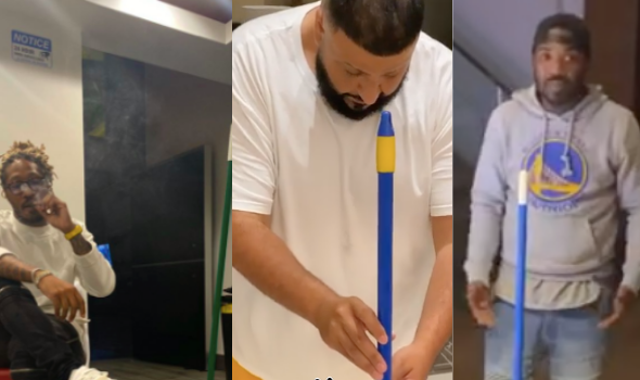 #BroomChallenge Takes Over Social Media — Future, DJ Khaled, Ray J & More Give It A Try