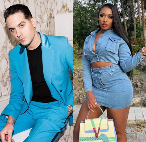 "G-Eazy Says He & Megan Thee Stallion Are ""Just Friends"", A Week After Video Of Them Kissing Goes Viral"