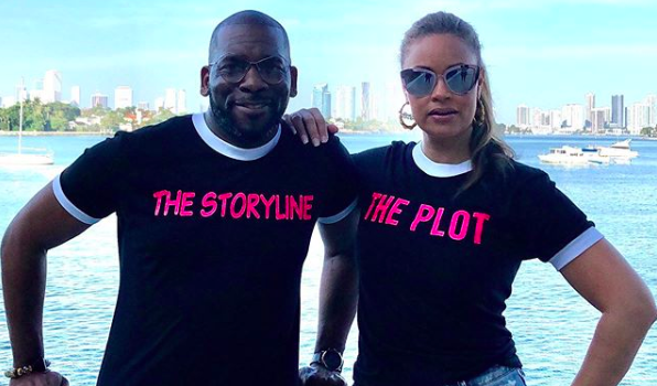 """Real Housewives Of Potomac"" Star Gizelle Bryant Posts V-Day Photo With Ex-Husband Amid Rumors They're Faking Their Romance For The Show"