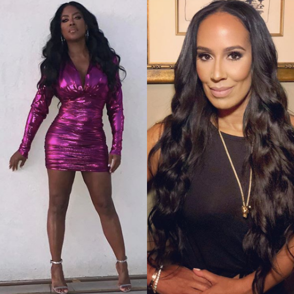 Kenya Moore Calls Tanya Sam A C*nt During Screaming Match [WATCH]