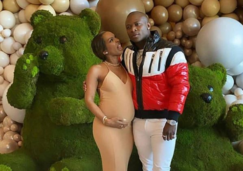 OT Genasis Confirms He's The Father Of Malika Haqq's Baby Boy, Attends Baby Shower Thrown By Khloe Kardashian [VIDEO]