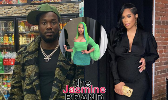 Meek Mill Tweets & Deletes Confirmation That Pregnant Milan Harris Is His Girlfriend Amid Feud w/ Ex Nicki Minaj