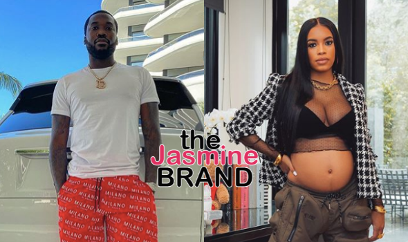 Meek Mill On His Girlfriend's Pregnancy: I Hope I'm Not High When Her Water Break